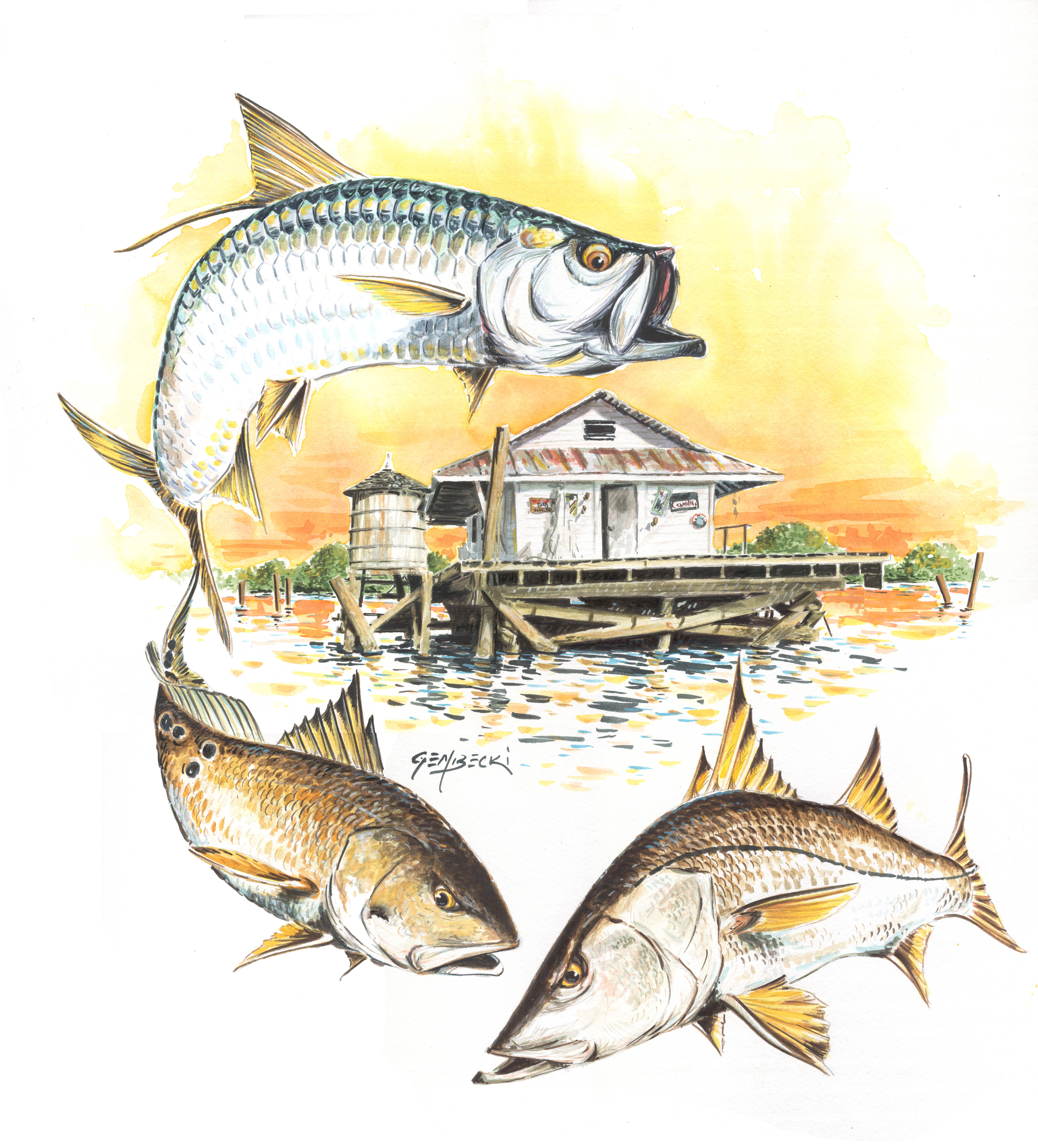 Low rent fish print fishing log book for Fish pictures to print